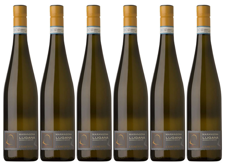 CEMENTO LUGANA -  2016 0.75L - 6 bottles - Marangona -17€/bottle7