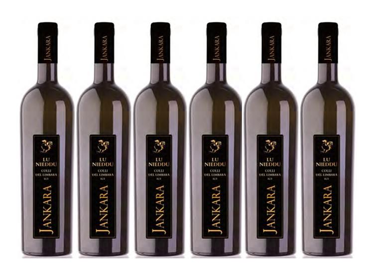 LU NIEDDU 2016 0.75L - 6 bottles - JANKARA -20,67€/bottle