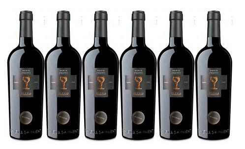 NERIO  RISERVA 2017 0.75L - 6 bottles - Schola Sarmenti - 14.8€/bottle