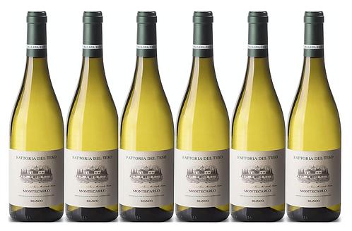 MONTECARLO BIANCO 2018 0.75L - 6 bottles - Del Teso - 10.8€/bottle