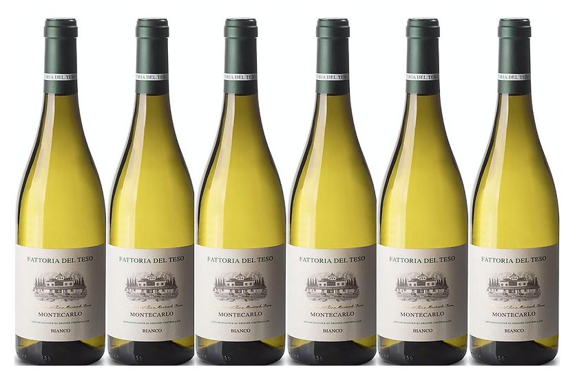 MONTECARLO BIANCO 2018 0.75L - 6 bottles - Del Teso - 9,76€/bottle