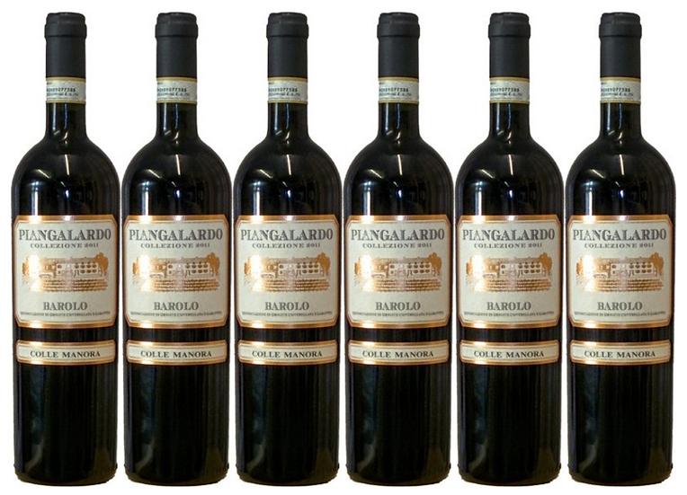 PIANGALARDO - BAROLO 2013 0.75L - 6 bottles - Colle Manora - 32,33€/bottle