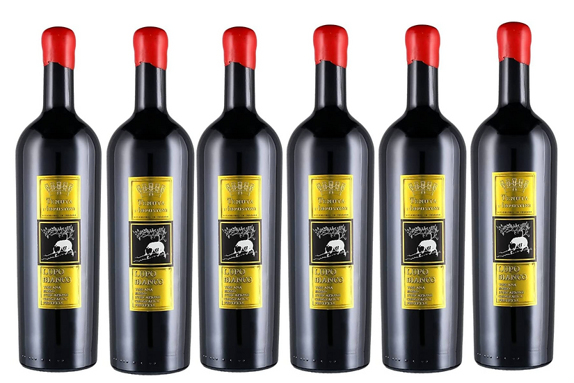 LUPO BIANCO  -  2011 0.75L - 6 bottles - L'Impostino -32,34€/bottle