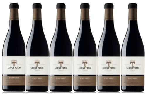 PINOT NERO- 2015 0.75L - 6 bottles - Le Due Torri -17,7€bottle