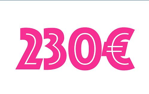 230€ VOUCHER