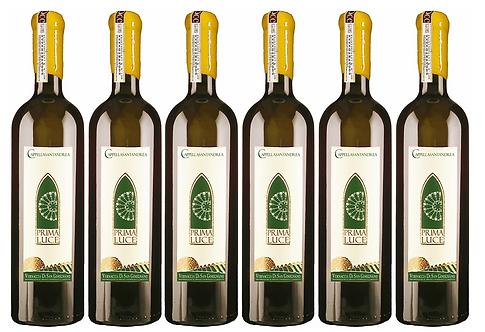 PRIMA LUCE VERNACCIA DI S.G. 2017 0.75L - 6 bottles - C.S. Andrea -22.7€/bottle