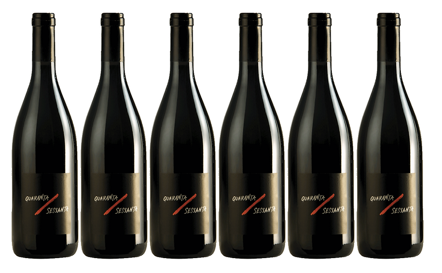 QUARANTA/SESSANTA  2017 0.75L - 6 bottles - L'olivella - 9€/bottle