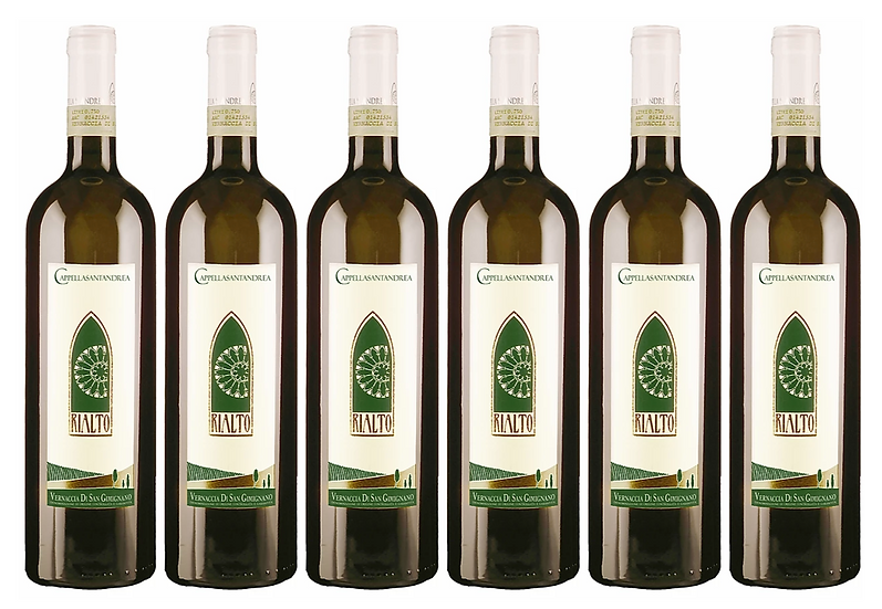 RIALTO VERNACCIA DI S.G. 2018 0.75L - 6 bottles - C. S. Andrea - 14.8€/bottle