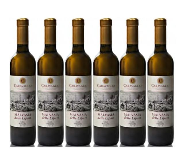 MALVASIA DELLE LIPARI PASSITO 2018 0.5L - 6 bottles - CARAVAGLIO - 27€/bottle