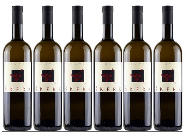 VITOVSKA -  2016 0.75L - 6 bottles - Skerk - 21,5€/bottle