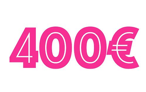 400€ VOUCHER