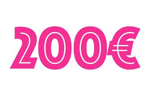200€ VOUCHER