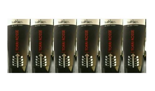 TORRI ROSSE 2011 0.75L - 6 bottles - Le Due Torri - 27,5€/bottle