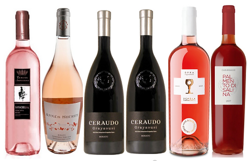 ROSÈ DISCOVERY BOX -  6 bottles
