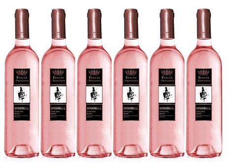 SASSOROSA -  2017 0.75L - 6 bottles - L'Impostino - 9€/bottle