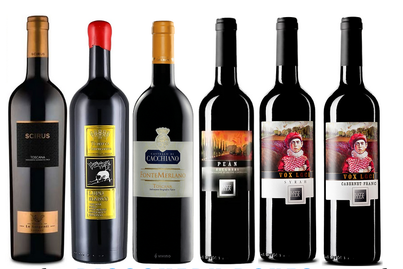 THE SUPERTUSCAN DISCOVERY BOX -  6 bottles