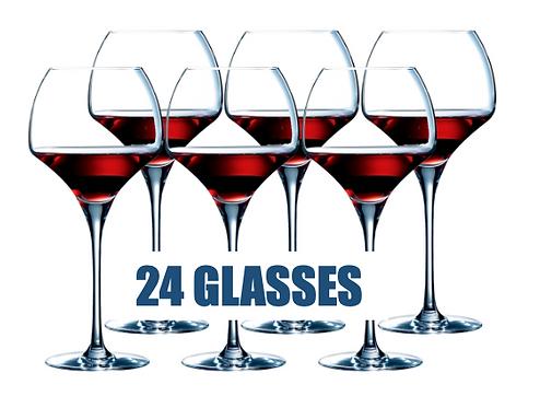 CHEF&SOMMELIER OPEN UPTANNIC 55CL - 24 glasses