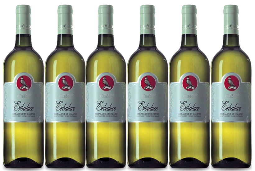 ERBALUCE DI CALUSO -  2017 0.75L - 6 bottles - Cieck -11.8€/bottle