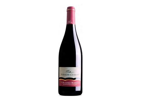 SUSSINKU ROSSO CAGNULARI 2017 0.75L - 1 bottle - NAURAGHE CRABIONI