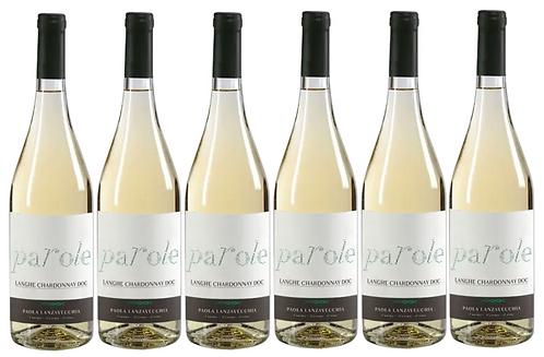 PAROLE CHARDONNAY -  2017 0.75L - 6 bottles - Villadoria - 13,8€/bottle