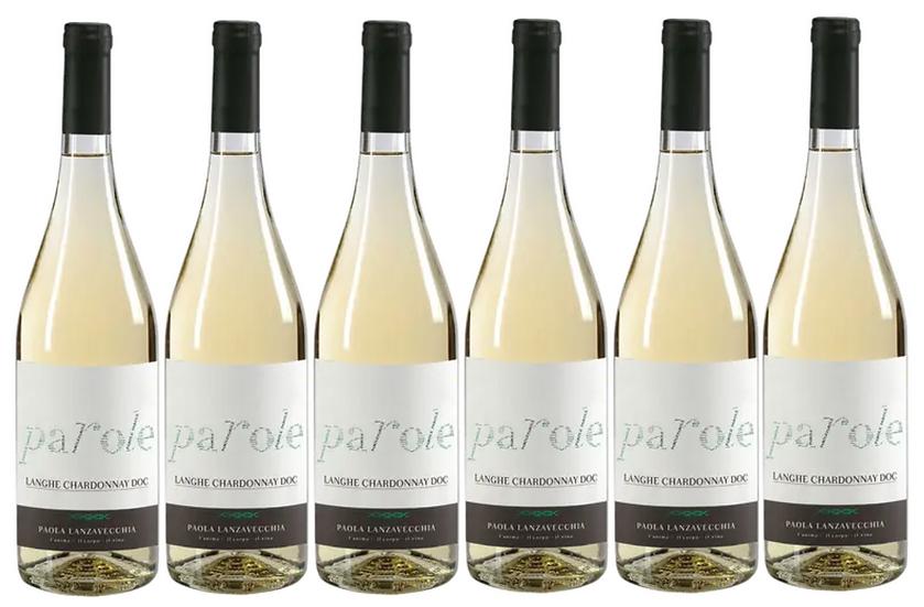 PAROLE CHARDONNAY -  2017 0.75L - 6 bottles - Villadoria - 12,50€/bottle