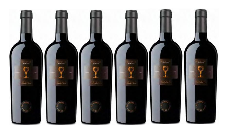 DICIOTTO PRIMITIVO 2016 0.75L - 6 bottles - Schola Sarmenti - 36,76€/bottle