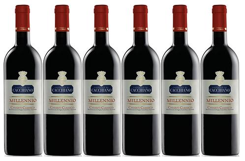 MILLENNIO -  2013 0.75L - 6 bottles - Cacchiano -31.7€/bottle