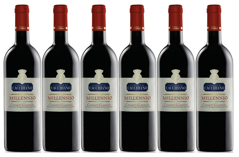 MILLENNIO -  2013 0.75L - 6 bottles - Cacchiano -31.7€/bottle