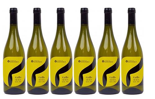 GRILLO  2018 0.75L - 6 bottles - TENUTA BASTONACA - 11.8€/bottle