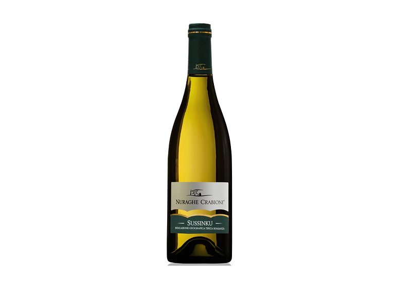 SUSSINKU BIANCO  2018 0.75L - 1 bottle - NAURAGHE CRABIONI