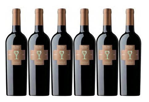 CRITERA PRIMITIVO 2018 0.75L - 6 bottles - Schola Sarmenti - 10.8€/bottle