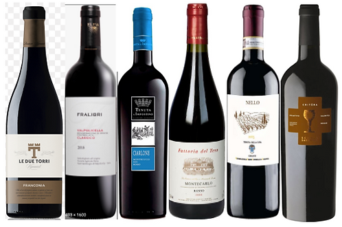 THE DAILY WINE RED DISCOVERY BOX -  6 bottles