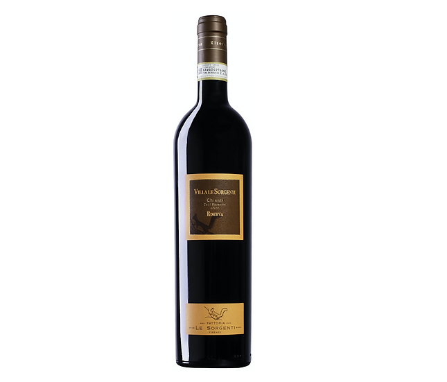 VILLA LE SORGENTI CHIANTI RISERVA -  2015 0.75L - 1 bottle - Le Sorgenti