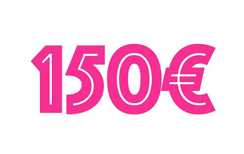 150€ VOUCHER