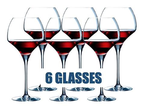 CHEF&SOMMELIER OPEN UPTANNIC 55CL - 6 glasses