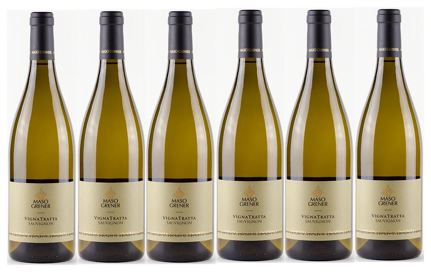 VIGNATRATTA SAUVIGNON -  2017 0.75L - 6 bottles -  Maso Grener - 15.8€/bottle