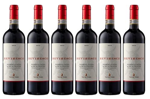 REVIRESCO MORELLINO -  2018 0.75L - 6 bottles - Val di Toro 13.8€/bottle