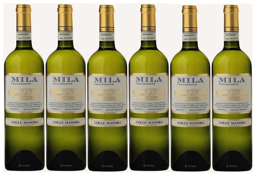 MILA - Chardonnay, Viognier 2015 0.75L - 6 bottles - Colle Manora - 18€/bottle