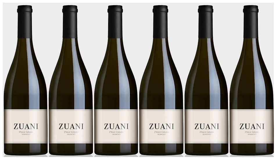 PINOT GRIGIO SODEVO -  2018 0.75L - 6 bottles - Zuani - 11.8€/bottle