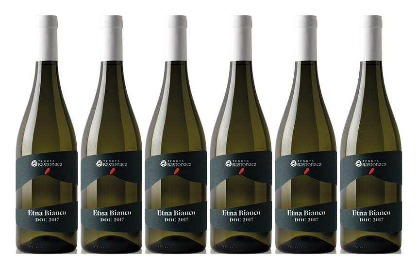 ETNA BIANCO  2017 0.75L - 6 bottles - TENUTA BASTONACA -25,17€/bottle