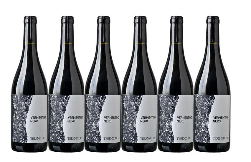 VERMENTINO NERO 2018 -  0.75L - 6 bottles - TERENZUOLA -14.8€/bottle