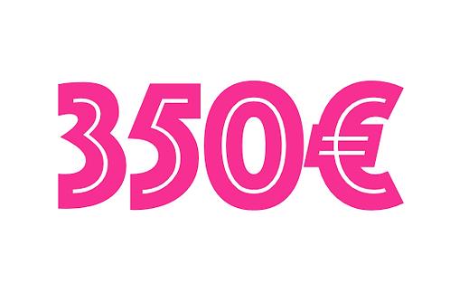 350€ VOUCHER