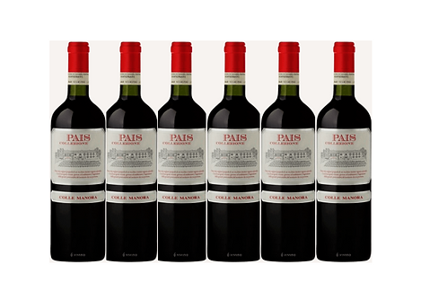 PAIS - BARBERA 2018 0.75L - 6 bottles - Az.agricola Colle Manora 8€/bottle8