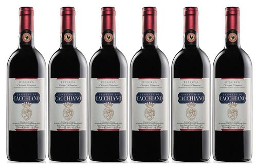 CHIANTI CLASSICO RISERVA 2015 0.75L - 1 bottle - Cacchiano - 25.7€/bottle