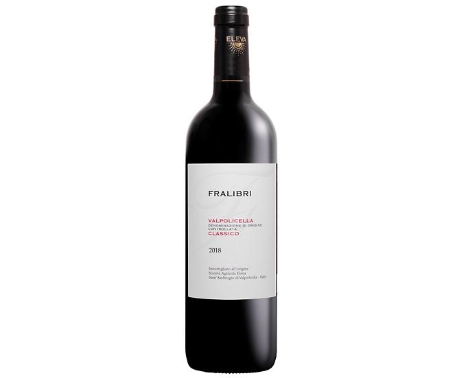FRALIBRI VALPOLICELLA CLASSICO -  2018 0.75L - 1 bottle - Az. agricola Eleva
