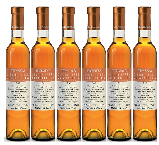 SCIACCHETRÀ CINQUETERRE DOC 2016 0.375L - 1 bottle - Terenzuola -43,16€/bottle