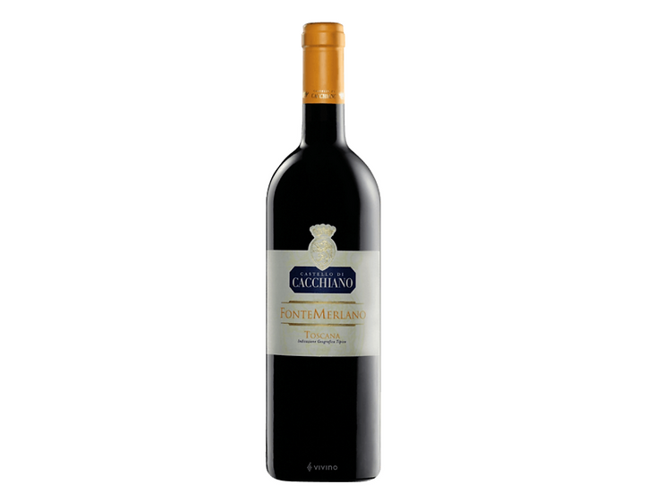 FONTEMERLANO SUPERTUSCAN -  2013 0.75L - 1 bottle - Castello di Cacchiano