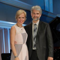Olga Kern and Gregory Knight