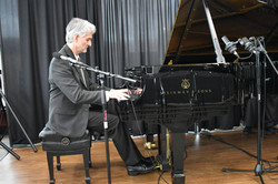 Recording at Steinway Piano Gallery