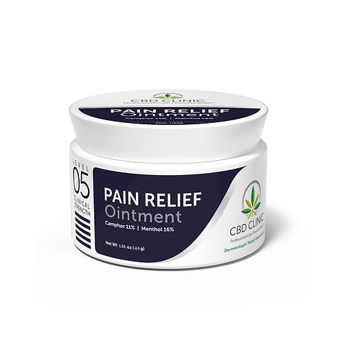 CBD Clinic Level 5 Pain Relief Ointment